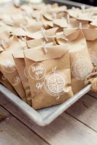 esküvői stílus - utazás koncepció ajándék csomagok