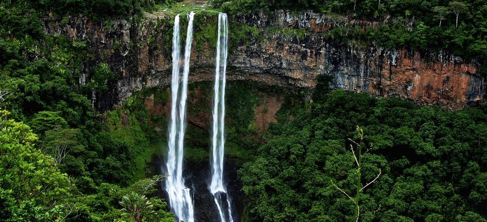 nászút ősszel - mauritius chamarel vízesés