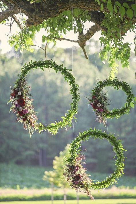 esküvői kreatív fotóhátterek - bohém körök