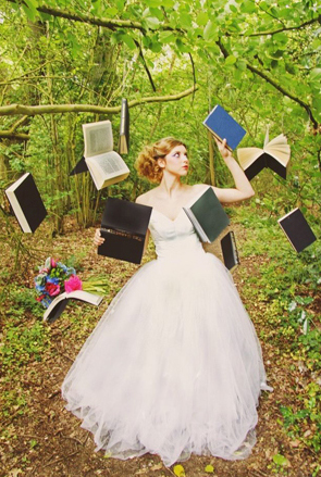 esküvői kreatív fotóhátterek - tematikus könyvek