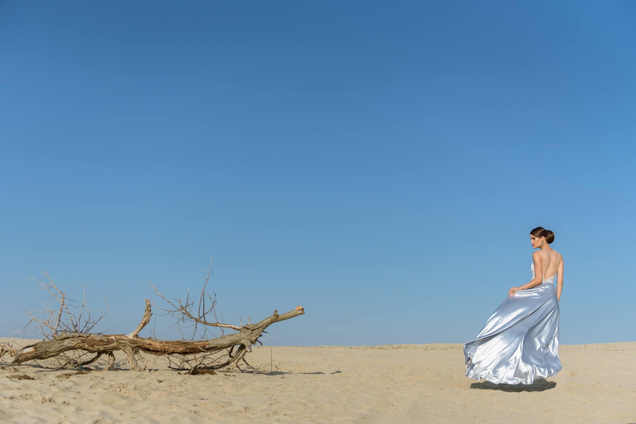 Nagy Ágota - Oázis menyasszonyi ruha - szatén
