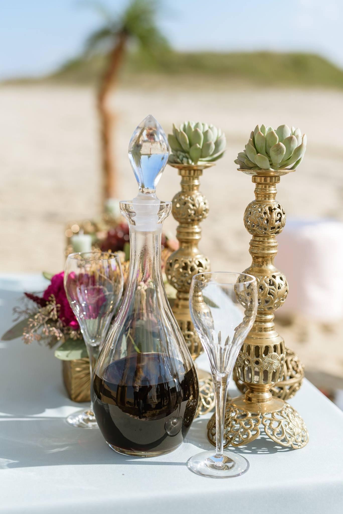 Kádár Andrea - oázis esküvő - italok
