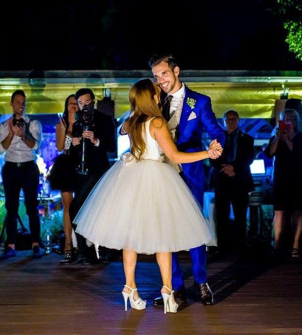 Borzi Vivien esküvő - nyitó tánc