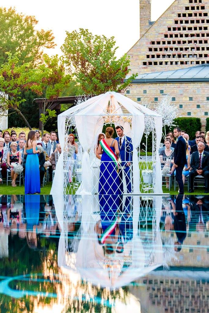 Borzi Vivien esküvő - házasságkötés szertartás