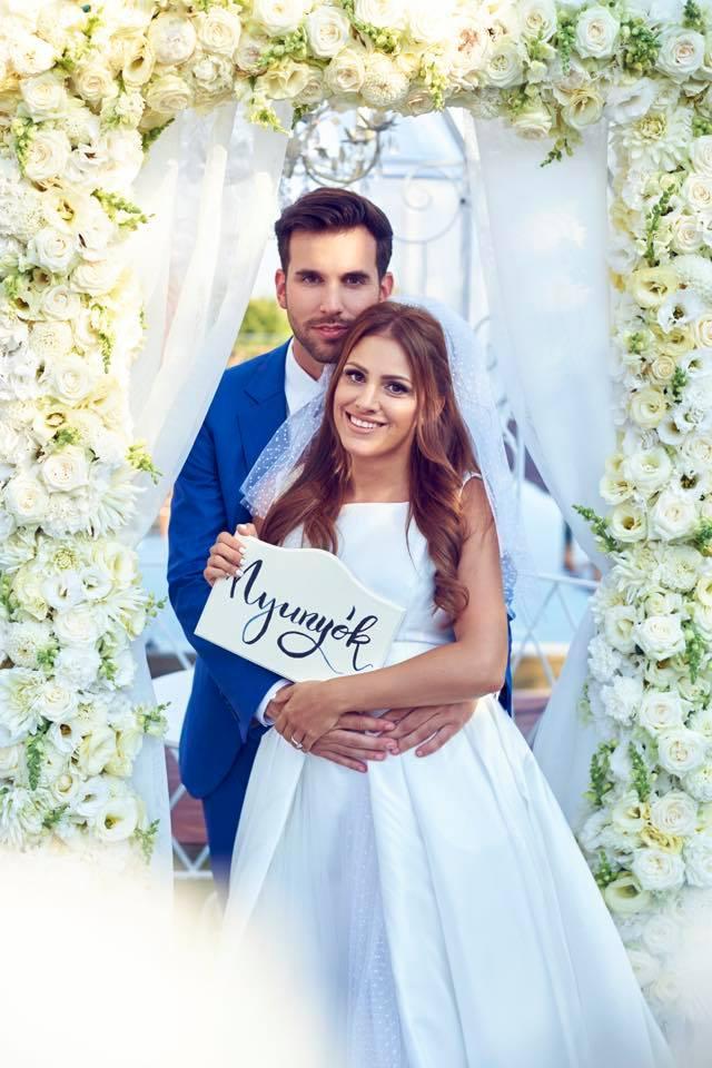 Borzi Vivien esküvő - nyunyók