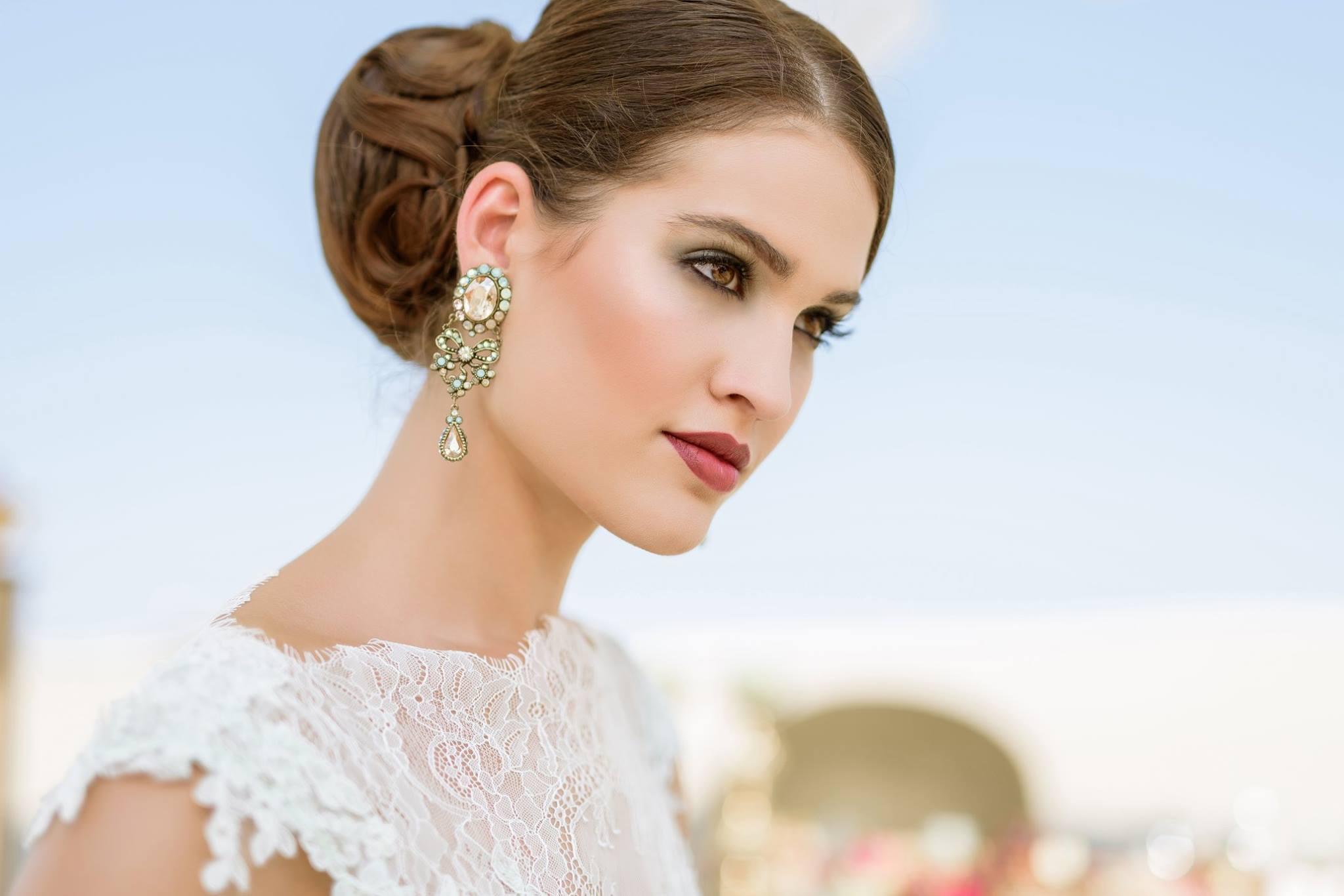 Nagy Ágota - Oázis menyasszonyi ruha - smink