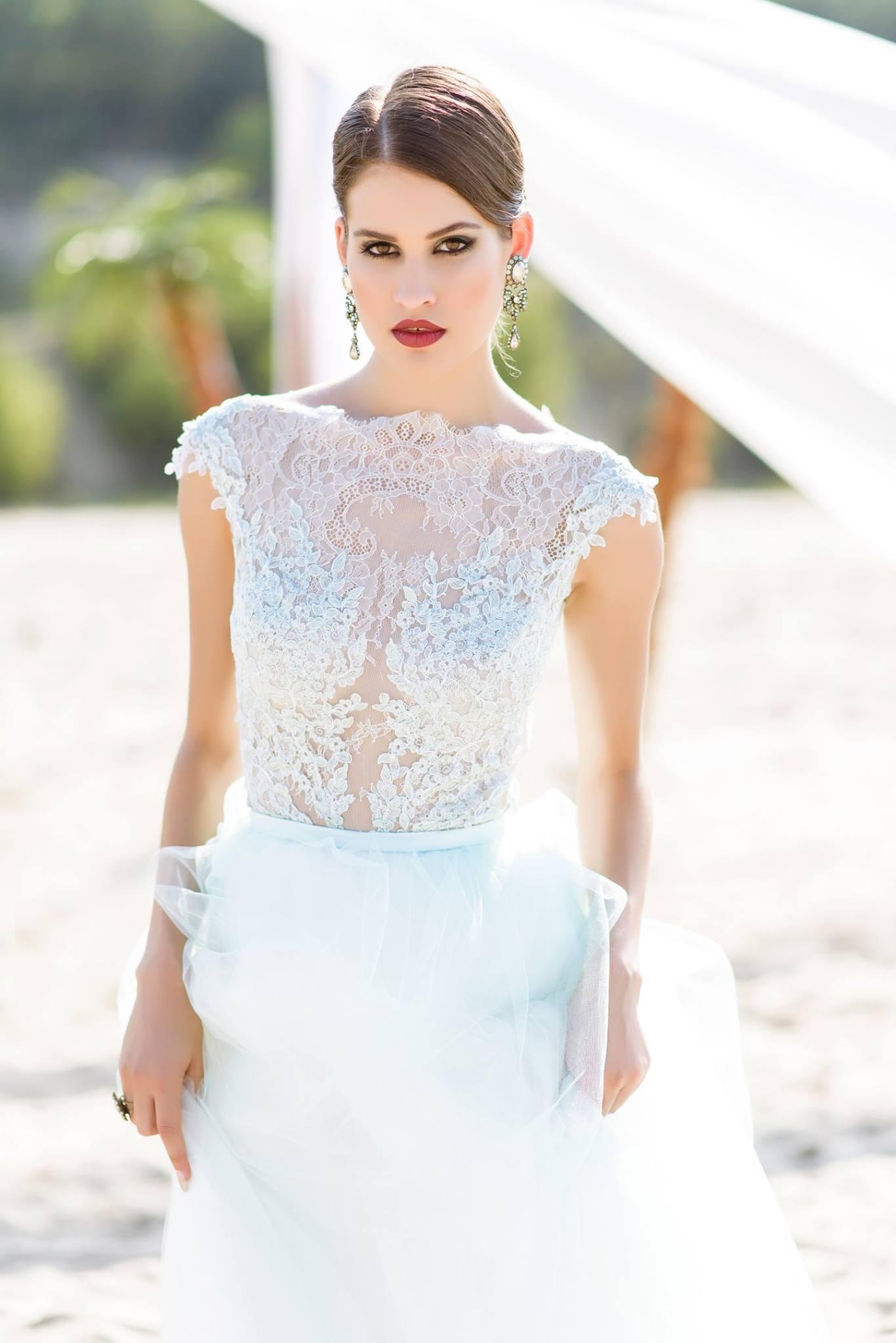 Nagy Ágota - Oázis menyasszonyi ruha elölről