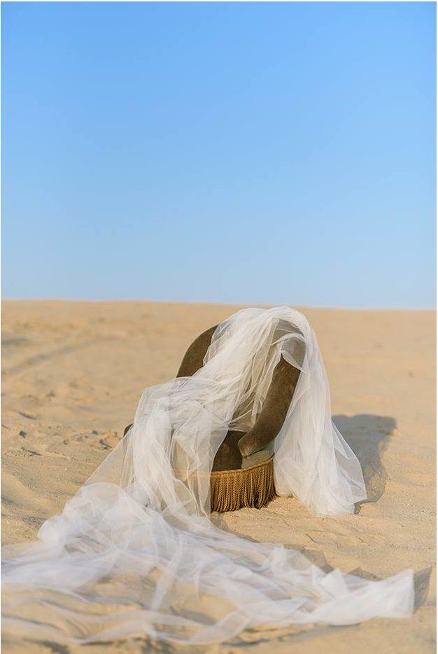 Nagy Ágota - Oázis menyasszonyi ruha - fátyol