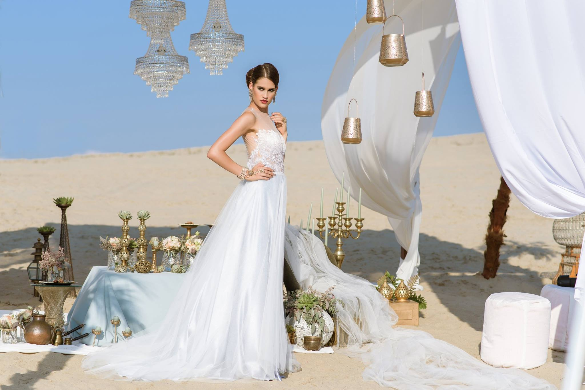 Nagy Ágota - Oázis menyasszonyi ruha - fehér