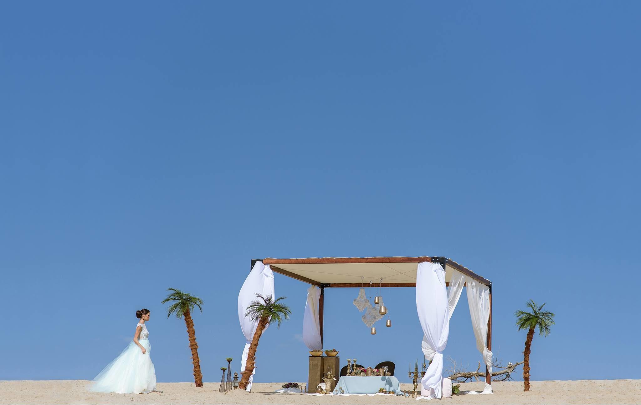 Kádár Andrea - Oázis esküvő távolról