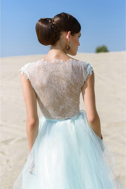 Nagy Ágota - Oázis menyasszonyi ruha - penész zöld