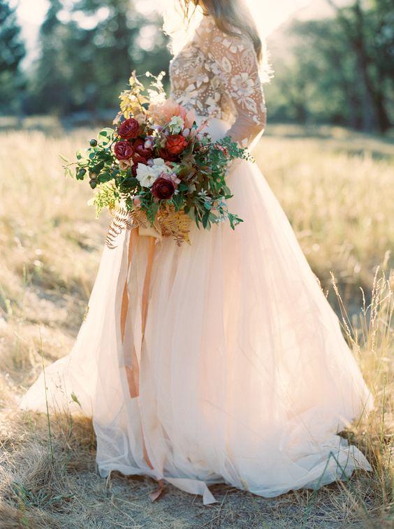 őszi menyasszonyi ruha csipke 2
