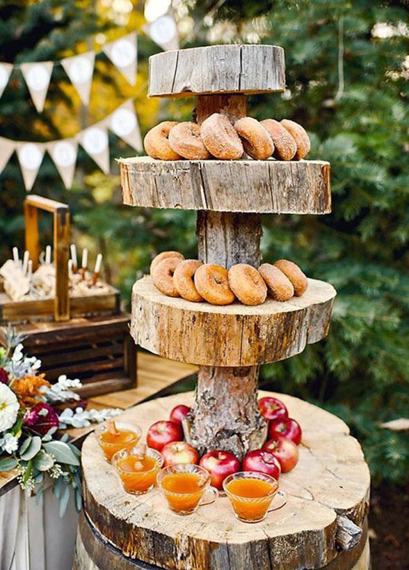 őszi esküvői vendégváró