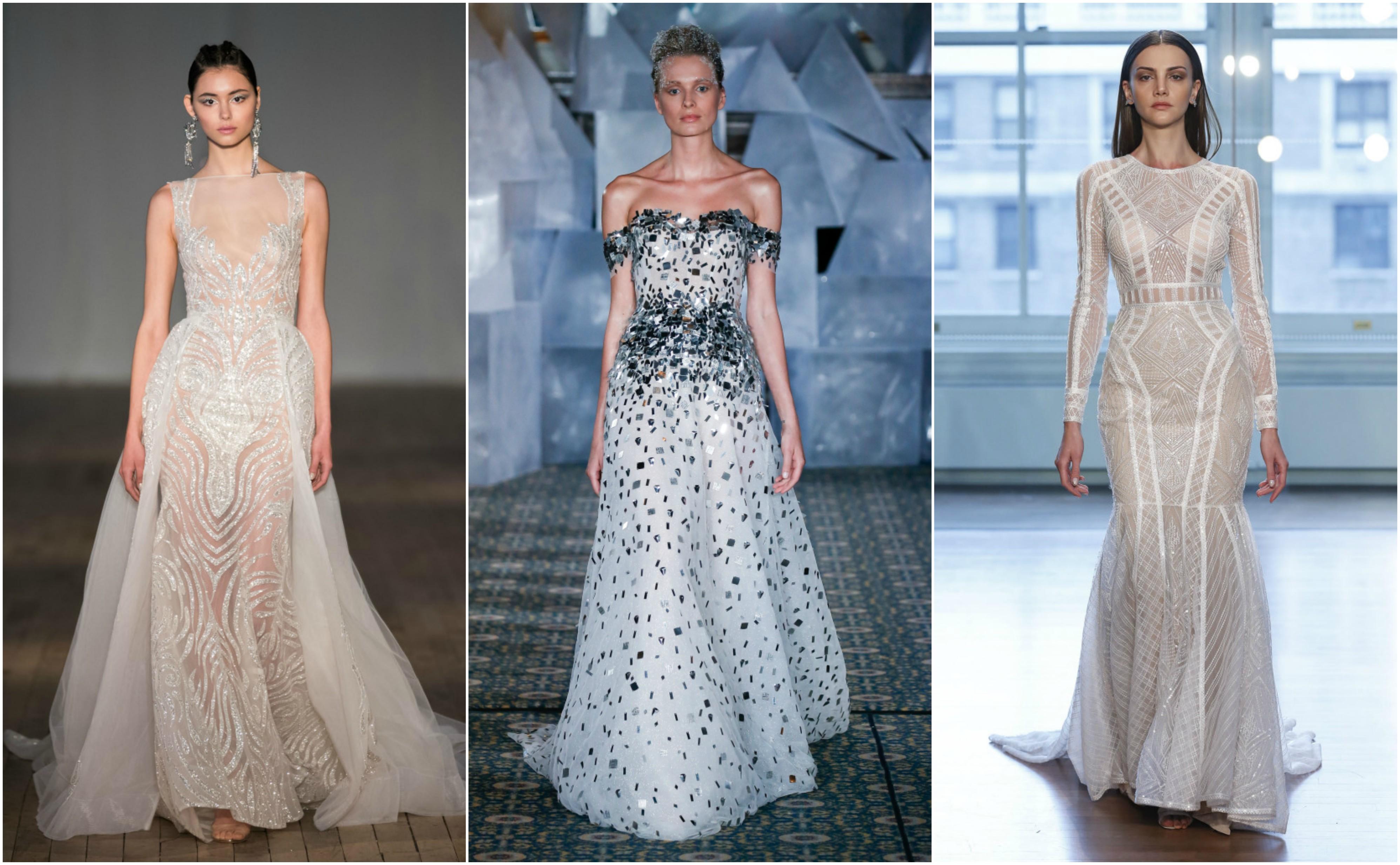 e59676e237 Egy ilyen káprázatos ruhánál csak Te, a menyasszony tündökölsz jobban!  Mesés látvány, ahogy a sok ezer apró gyöngy csillog a napfényben a  menyasszonyi ruhán ...